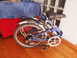bici plegable la de las fotos