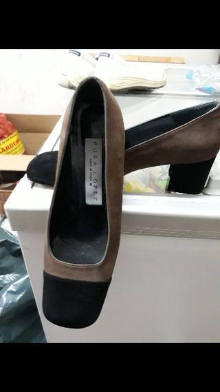 Zapatos sin entrenar