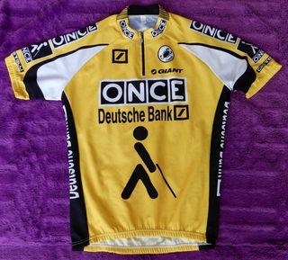 Maillot bici Once-Deutsche Bank