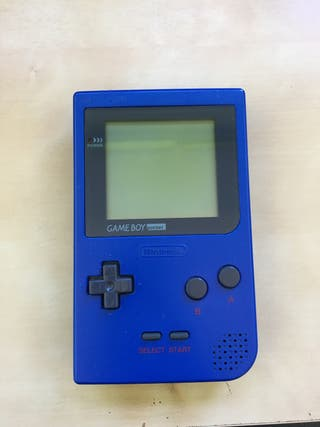 Gameboy pocket azul