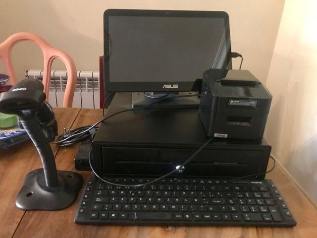 Tpv tactil caja registradora