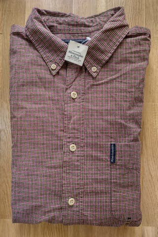 Camisa de cuadros Abercrombie & Fitch