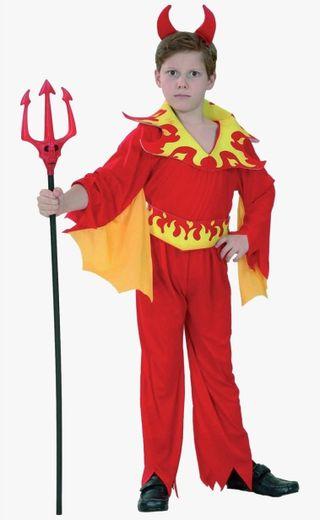NUEVO Disfraz Demonio rojo
