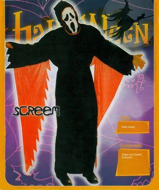 NUEVO Disfraz Scream adulto