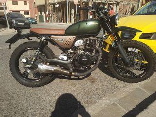 moto hanway 125 scambler