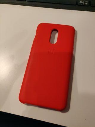 Funda original Oneplus 6T silicone case