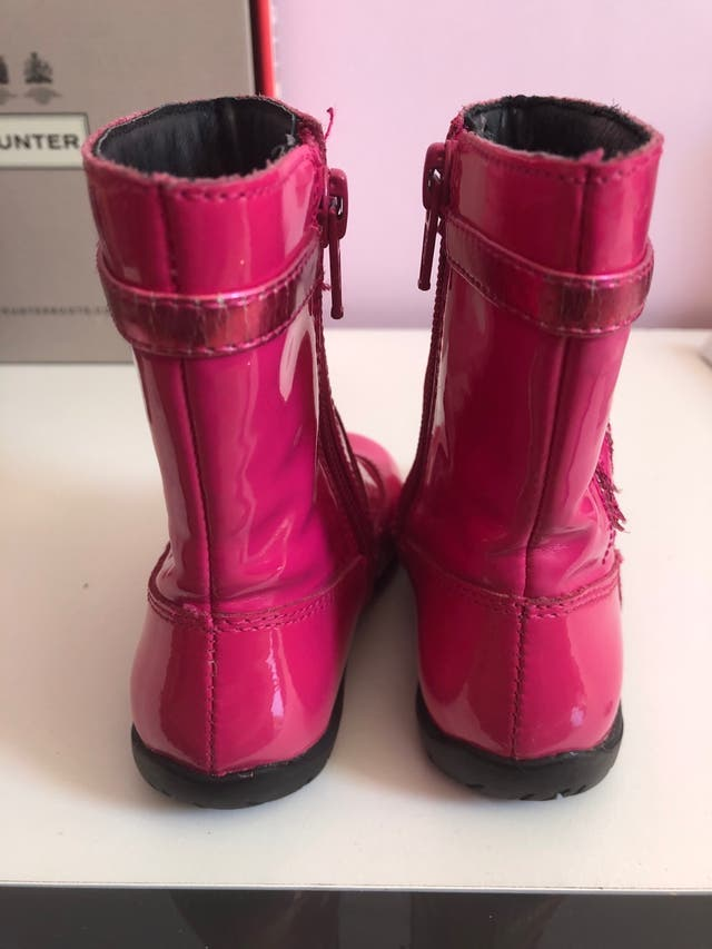 LELLI KELLI girls pink boots. Infant size 4