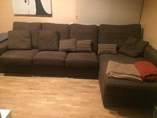 Sofa tipo chaise longe