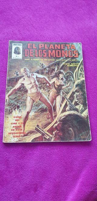 El planeta de los monos(4 Comics)