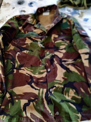 Chaqueta camisa ejército holandés dpm militar