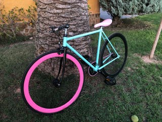 Bicicleta Fixie personalizada