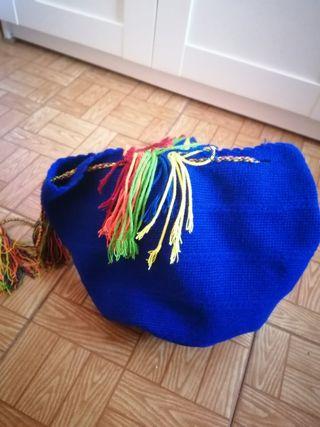 bolso Wayuu hecho a mano