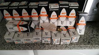 18 bombillas casquillo fino