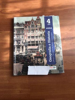 Libro geografia e historia 4 eso