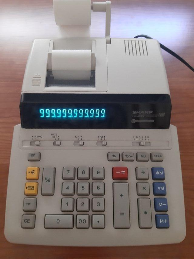 Calculadora eléctrica Sharp 12 dígitos