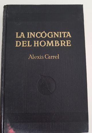 """Libro """" La incógnita del hombre """""""