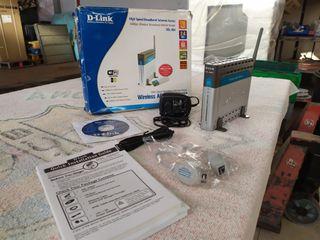Router ADSL D-Link DSL-G604T Wireless Kit