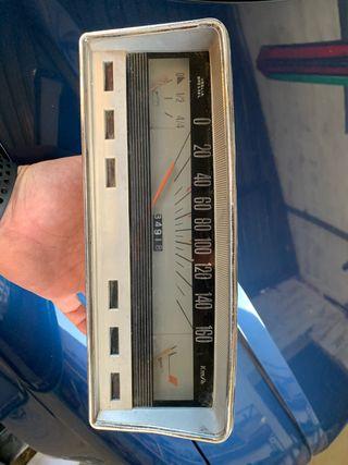 Cuadro Velocímetro seat 124
