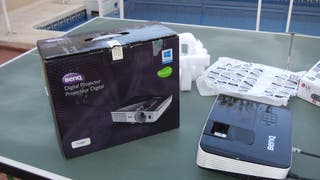 Reproductor Blu Ray y Proyector Benq