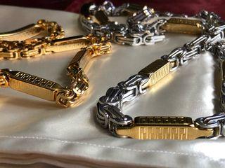 Cadena y cruz / pulsera de regalo..- OFERTA X 24.