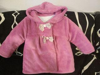 Abrigo para niña 18 meses +regalo vestido