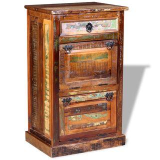 vidaXL Zapatero de 4 estantes con cajón 243974