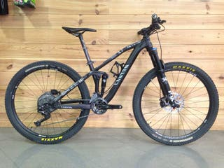 Bicicleta doble suspensión talla XS
