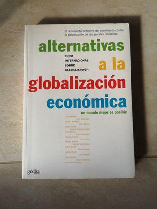 Libro Alternativas a la globalización económica