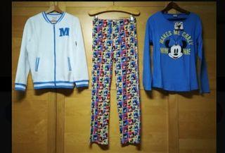 conjunto pijama / batin DISNEY