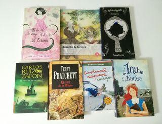 Varios Libros Juveniles