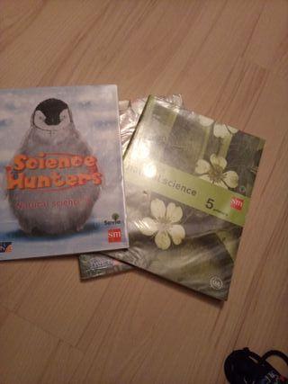 Libros de ciencias naturales 5to primaria.