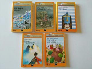 Colección Libros Barco de Vapor y Sopa de Letras