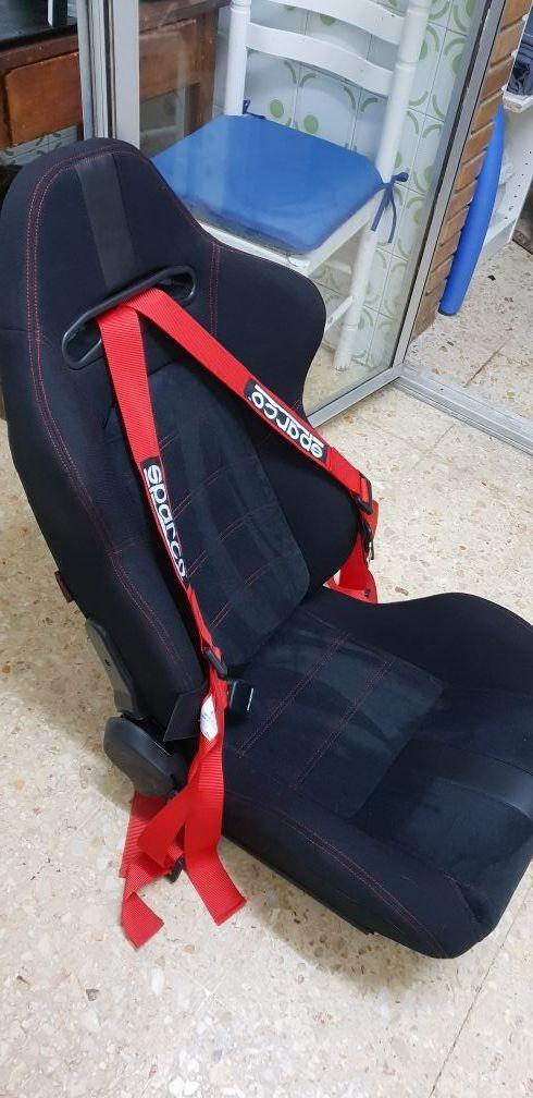 asientos deportivos semibackets