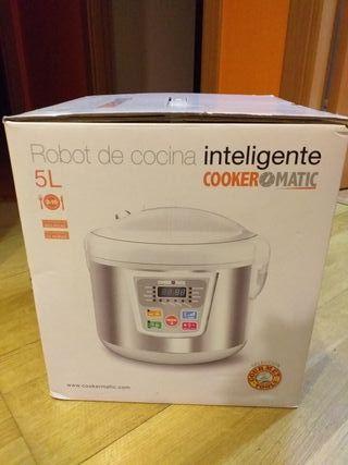 Robot de cocina Cooker matic. Sin estrenar