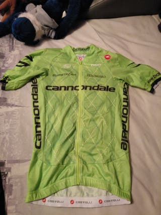 MAILLOT CANNONDALE TEAM CASTELLI