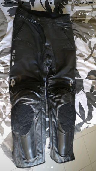 Pantalon de cuero Richa