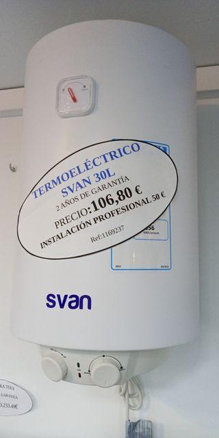 termo electrico svan 30 litros