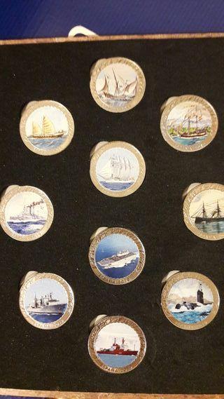 historia navegación monedas