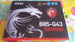 Placa Base MSI B85 G43 Gaming (OC Genie 4)