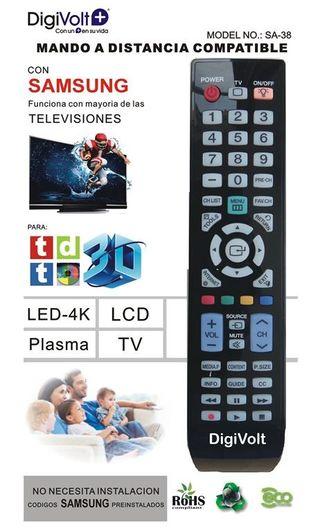 MANDO A DISTANCIA para SAMSUNG TV No necesita conf