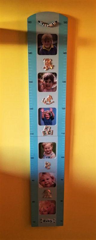 Portafotos medidor de altura niñ@s