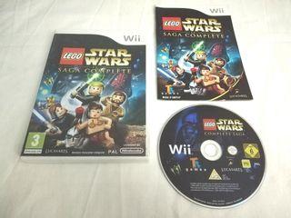 Lego Star Wars La saga completa Wii y Wii U