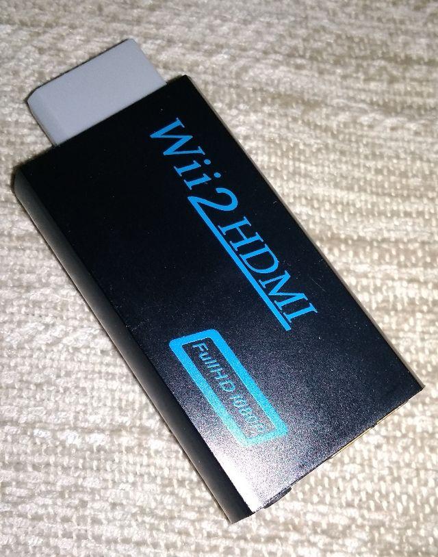 adaptador Wii HDMI