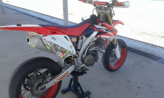Honda crf 450 supermotard