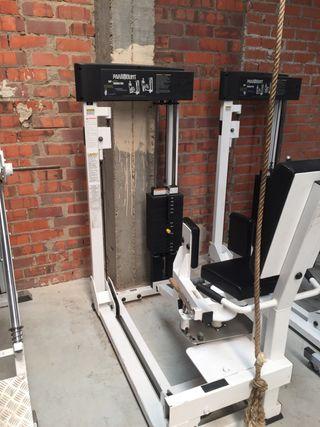 2 maquinas gimnasio profesional americanas