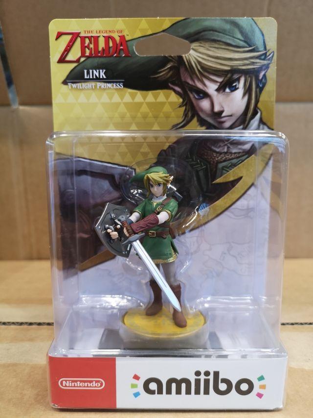 Amiibo Link, Zelda Twilight Princess