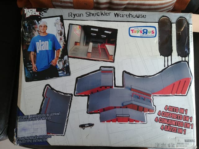 Pistas Ryan Sheckler Warehouse