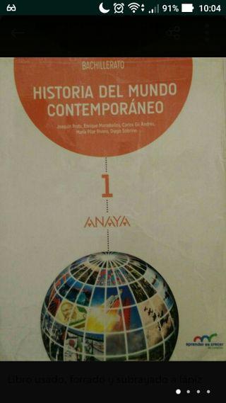 Historia del mundo contemporáneo 1ºBachillerato