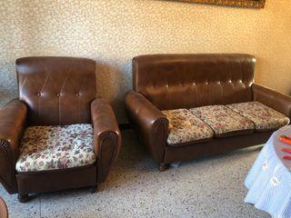 Tresillo tres sofas