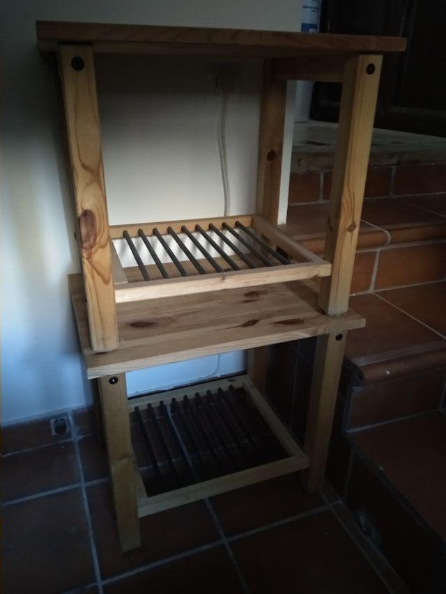 Mesillas de madera